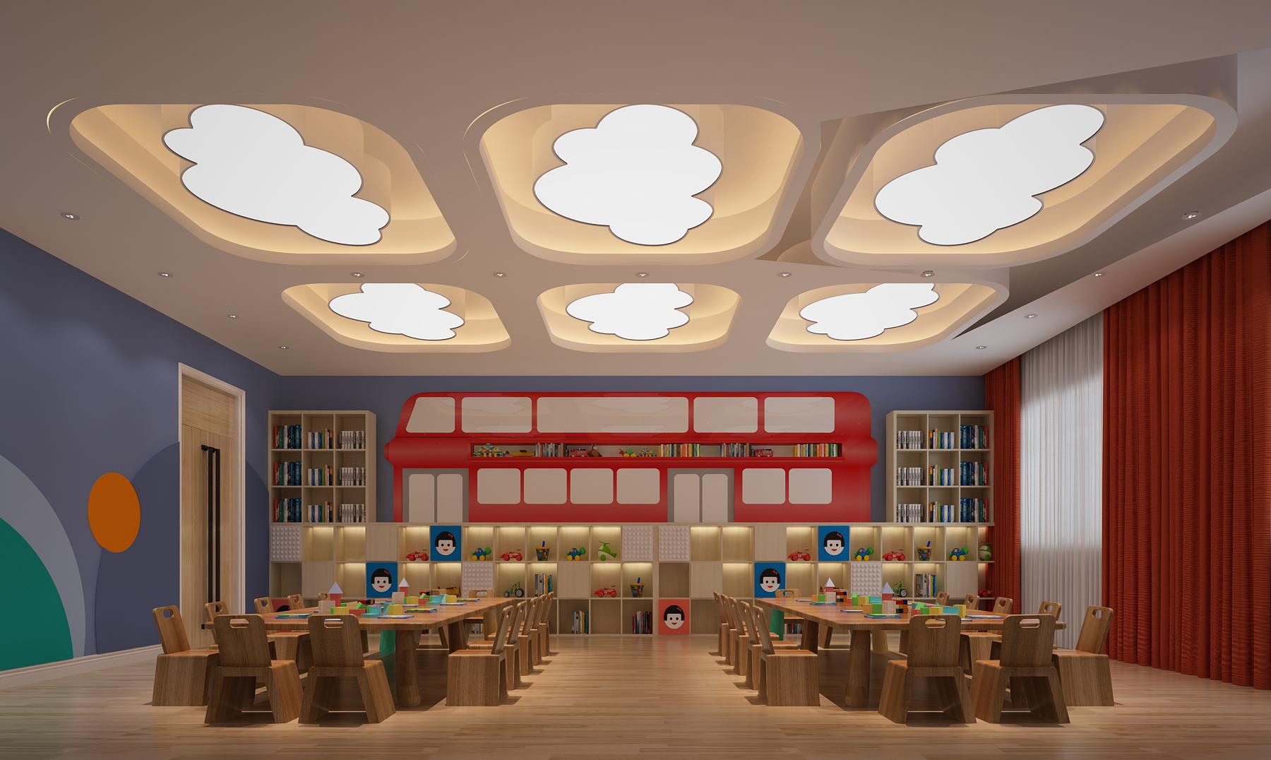 幼儿园设计多功能厅的延展利用